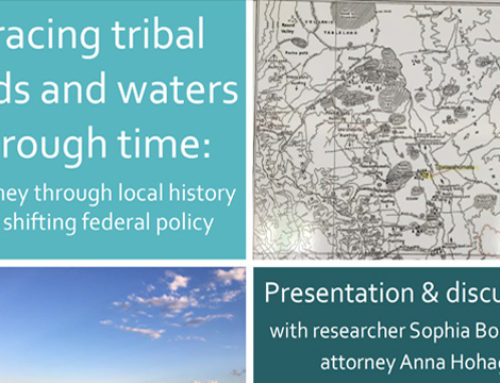 TRACING TRIBAL LANDS AND WATER THROUGH TIME