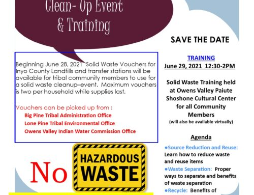 Solid Waste Clean-Up and Training June 29
