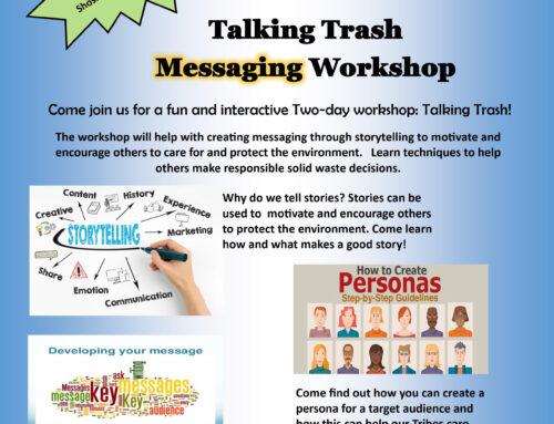 Talking Trash Messaging Workshop